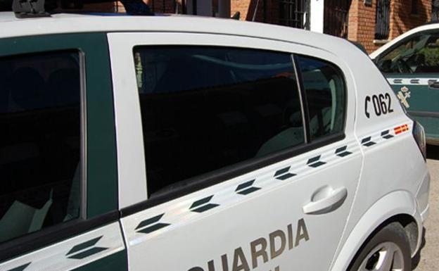 Vehículo oficial de la Guardia Civil/BurgosConecta