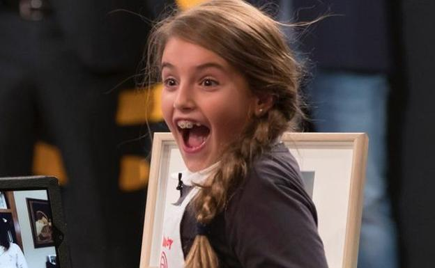 Esther Requena, ganadora de la quinta edición de 'MasterChef Junior'./