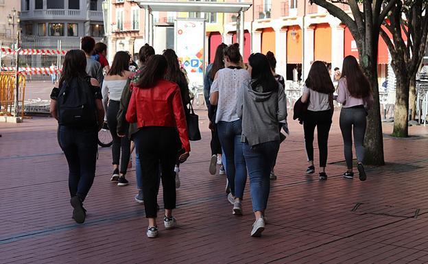 Cada vez hay menos población joven./Rodrigo González