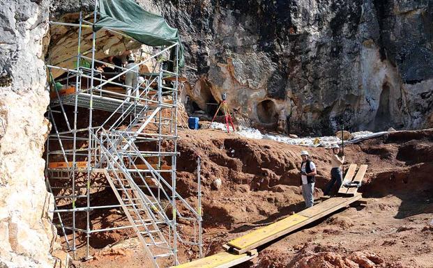 Cueva Fantasma ha sido una de las novedades en esta campaña de excavaciones de Atapuerca