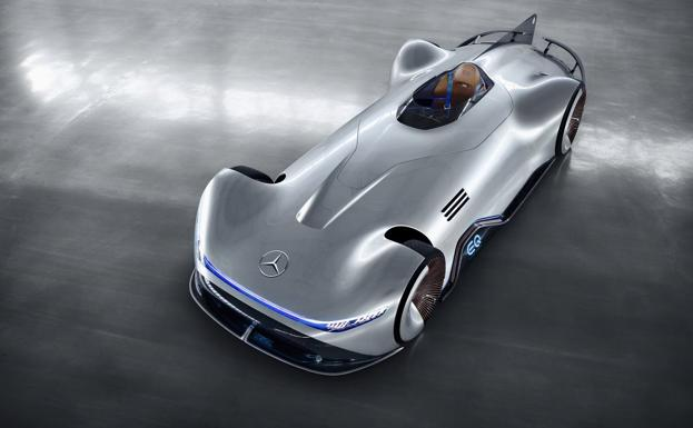 Mercedes EQ Silver Arrow, flecha eléctrica