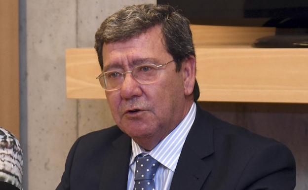 César Rico, presidente de la Diputación de Burgos/Ricardo Ordóñez/ICAL