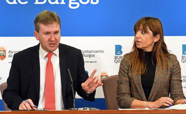 Javier Lacalle y Carolina Blasco. /