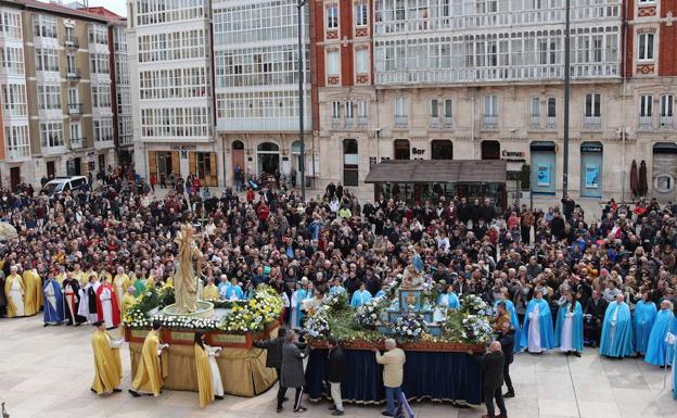 Procesión del Anuncio Pascual
