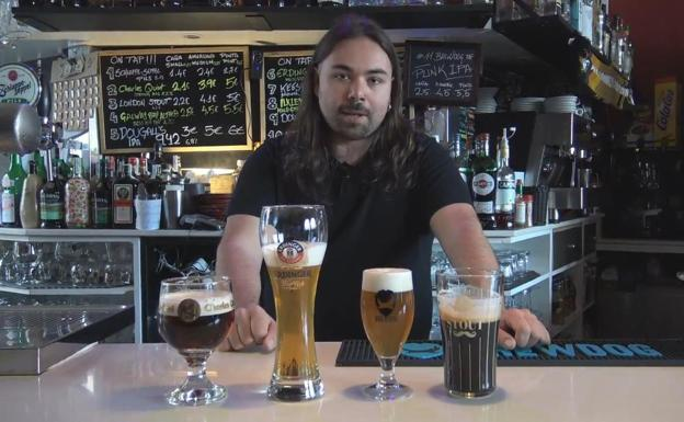 David Herrera, dueño del Golden Rock and Beer/AIA
