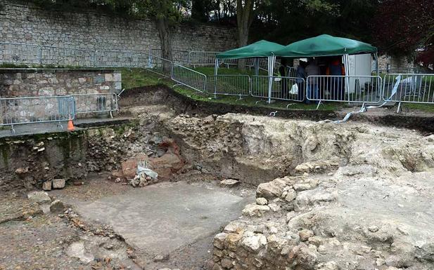 Imagen de la excavación que finaliza en el mes de diciembre/AIA