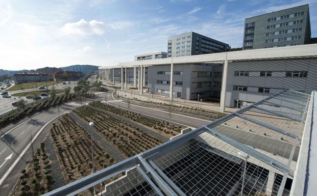 Hospital Universitario de Burgos (HUBU). /BC